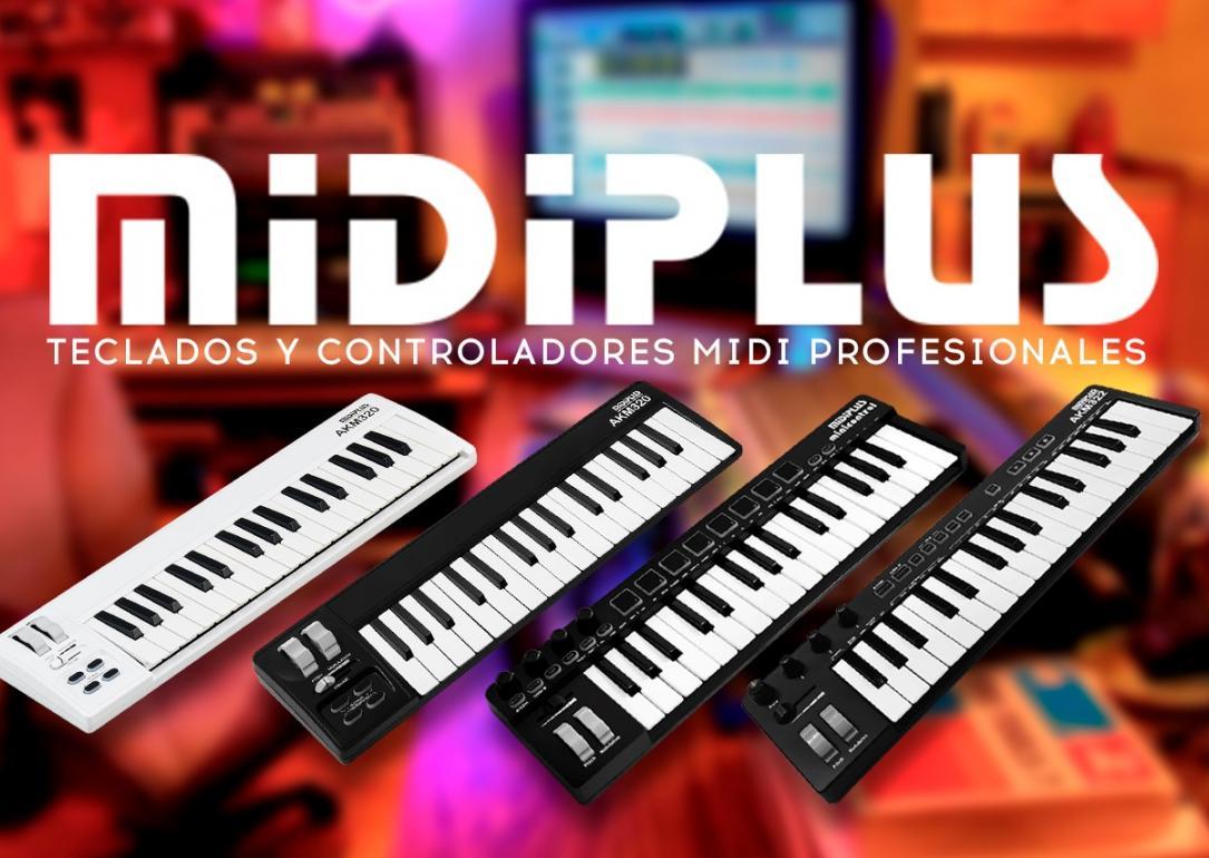 Minicontroladores Midiplus: el tamaño de tu homestudio