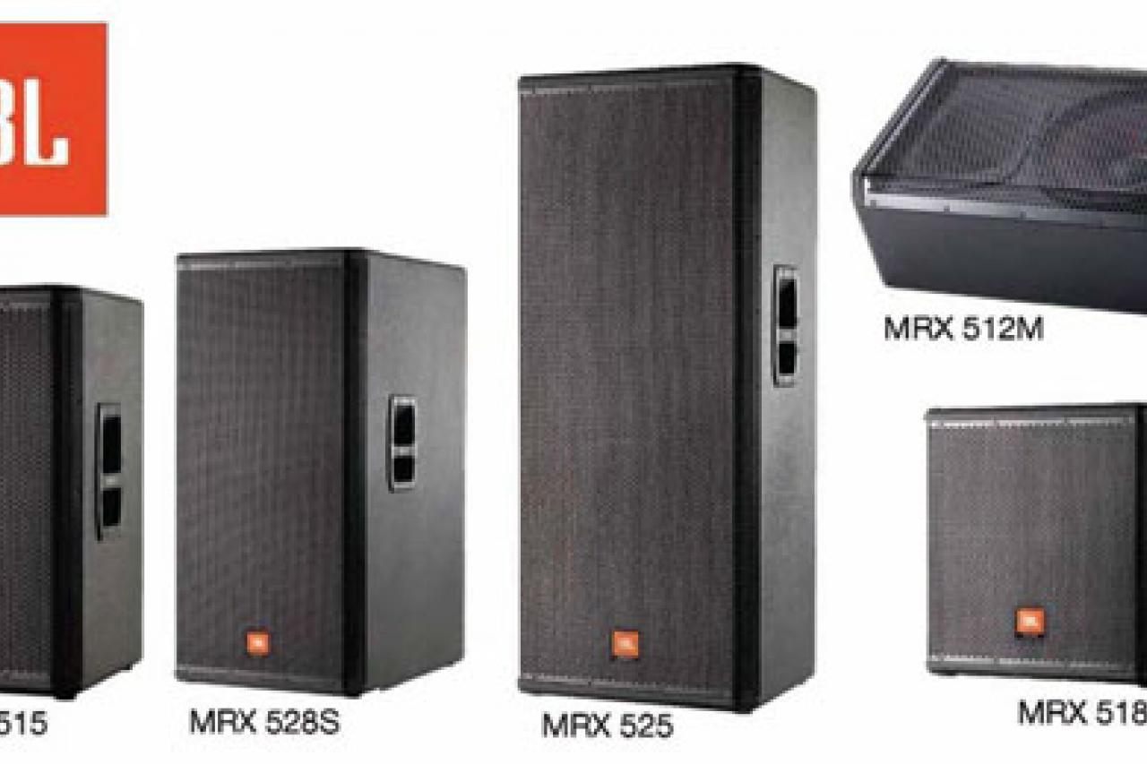Productos - JBL Professional presenta: Serie MRX500