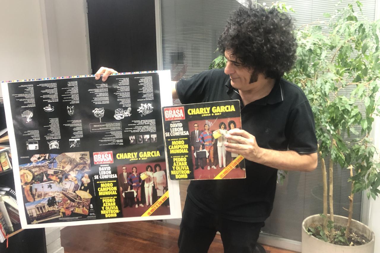 Diego Boris: custodiando el patrimonio del rock nacional